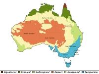 Klimazonen Australiens