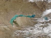 Satelitenaufnahme des Balchaschsees