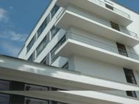 Bauhaus-Dessau Wohnheim Balkone