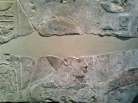 Ein Amenophis IV zeigendes Relief - 18. Dynastie
