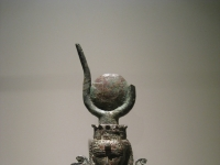 Hathor-Figur, Teil einer heilgen Barke