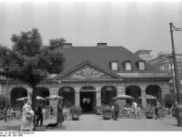 Frankfurt am Main, Café Hauptwache (30 Juni 1958)