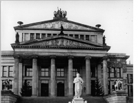 Berlin, Platz der Akademie, Schauspielhaus, Schiller-Denkmal