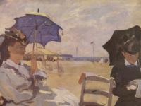 Am Strand von Trouville (1870)