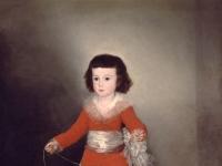 Francisco Goya: Manuel Osorio Manrique de Zuñiga (ca. 1787)