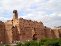 Marrakesch: EL Badi Palast