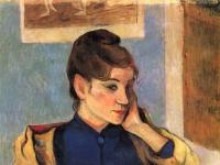 Paul Gauguin: Madeleine Bernard (1888)