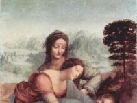 Anna, Maria, Christuskind mit Lamm