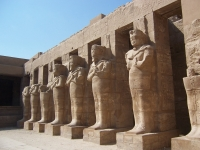 Ramses III Tempel in Karnak, Luxor, Ägypten