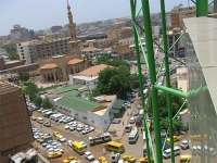 Traffic chaos in Khartoum