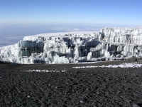 Gletscher von Kilimanjaro