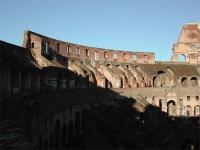 Intérieur du Colisée à Rome