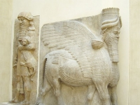 One of the gates of Dur-Sharukin, Assyria