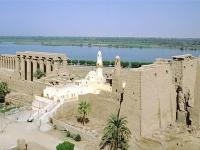 Moschee inmitten des Tempels