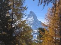 Matterhorn im Herbst