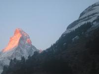 Matterhorn from Hostel