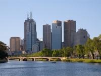 Melbourne (Fluss yarra)