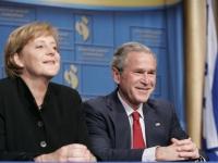 George W. Bush und Angela merkel, 4 mai 2006