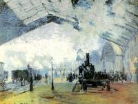 Bahnhof Saint Lazare in Paris