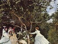 Claude Monet: Frauen im Garten (1866-1867)