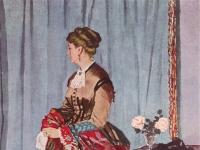 Claude Monet: Madame Gaudibert (1868)