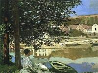 Claude Monet: Am Seine-Ufer, bei Bennecourt (1868)