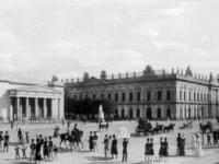 Zeughaus und Neue Wache im jahr 1828