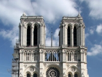 Notre-Dame de Paris as seen from the parvis