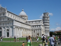 Leaning Tower and Vertical Cathedral of Pisa