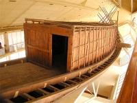 Solarschiff von Khufu, Heck