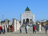 Rabat: Mausoleum von Mohammed V.