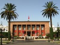 Rabat: Marokkanisches Parlament