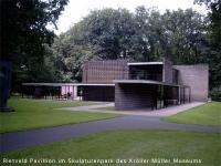 Rietveld Pavillion im Skulpturenpark des Kröller-Müller Museums