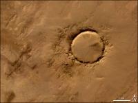 Tenoumer Impaktkrater, Mauritanien