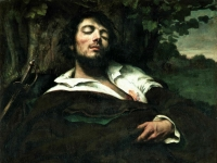 Der verlezte Mann, Gemälde von Gustave Courbet (1844-1854)