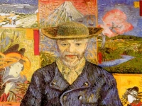 Vincent van Gogh: Bildnis Père Tanguy (1887-1888)