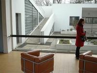 Villa Savoye. Wohnzimmer und Terasse
