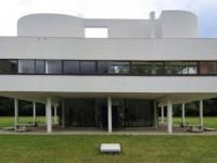 Villa Savoye: Der Eingang