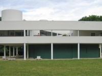 Villa Savoye: Garagenseite