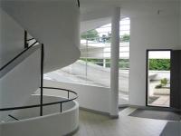 Villa Savoye: Blick auf die Terasse
