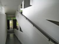 Villa Savoye: Eingang mit der Rampe