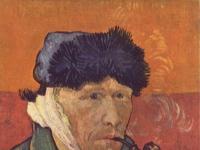Vincent van Gogh: Selbstporträt mit verbundenem Ohr, 1889