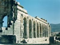 Volubilis: Römische Basilika