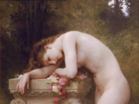 William Adolphe Bouguereau: Liebesschmerz Douleur d´amour (1899)