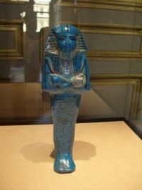 Statuette des Pharaos Sethos I. , 19. Dynastie, Sammlung des Louvre, Paris