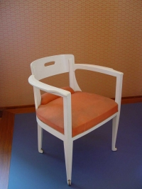 Henry van de Velde: Stuhl entworfen für das Speisezimmer von Schloss Lauterbach in Neukirchen/Pleiße