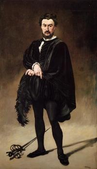 Philibert Rouvière als Hamlet
