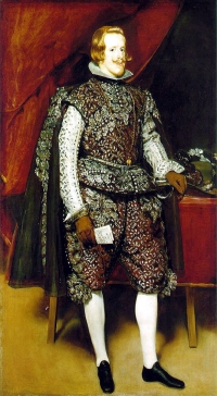 Philip IV. in Brown and Silver