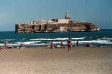 Peñón de Alhucemas, vor der marokkanischen Küste