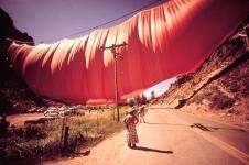 Valley Curtain, Grand Hogback, Colorado, USA